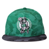 Bon� New Era 59FIFTY Boston Celtics Camo Green/Grey