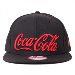 Bon� New Era 9FIFTY Snapback Coca Cola Script Black/Red
