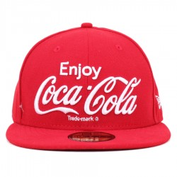 Bon� New Era 59FIFTY Enjoy Coca Cola Red
