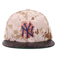 Bon� New Era 59FIFTY New York Yankees Brown Printed/Black