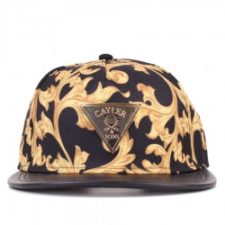 Bon� Cayler And Sons Snapback Milano 2Tone Cap Black/Yellow Printed