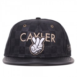 Bon� Cayler And Sons Snapback Checkers Cap Black