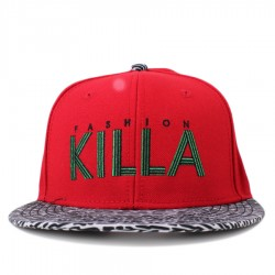 Bon� Cayler And Sons Snapback Killa Cap Red/Printed