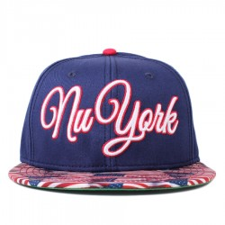 Bon� Cayler And Sons Snapback Nu York Cap Navy/Printed