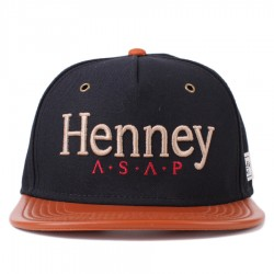 Bon� Cayler And Sons Snapback Henney Cap Navy/Brown