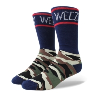Meia Cayler And Sons Weezy Socks Navy/Printed