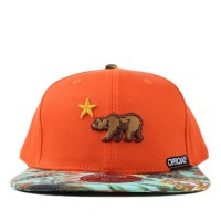 Bon� Official Snapback Dolo Tropics Orange/Printed