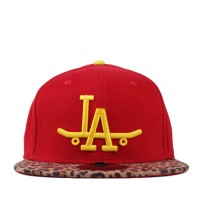 Bon� Official Strapback LA Skate Red/On�a