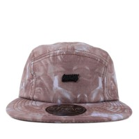 Bon� Official Strapback Five Panel Conflict Roses Brown/Printed