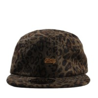 Bon� Official Strapback Five Panel Suede Cheetahs Green Printed
