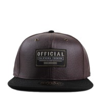 Bon� Official Strapback Burg Ostritch Brown/Black