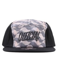 Bon� Official Strapback Five Panel Bossa Camp Printed/Black