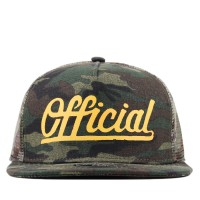 Bon� Official Snapback The Hunter Green Camo