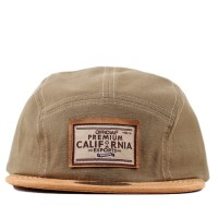 Bon� Official Strapback Five Panel Camo Reversed Beige
