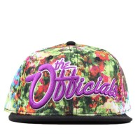 Bon� Official Snapback Trill Officials Printed/Black
