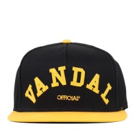 Bon� Official Snapback B/Y Vandal Black/Yellow