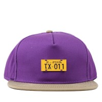 Bon� Official Strapback TX Purple/Beige