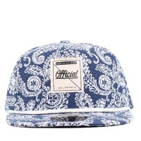Bon� Official Strapback Paised Navy/White Printed