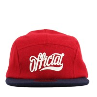 Bon� Official Strapback Five Panel Redroy Red/Navy