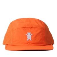 Bon� Grizzly Strapback Five Panel O.G Bear Nylon/Micro Orange