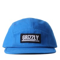 Bon� Grizzly Strapback 5 Panel Camp Hat Royal
