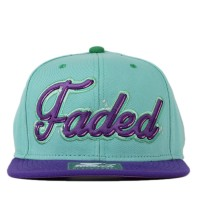 Bon� Starter Snapback Faded Green/Purple