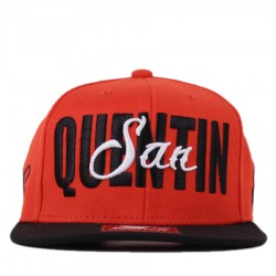 Bon� Starter Snapback San Quentin Orange/Black