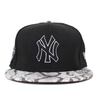 Bon� New Era 9FIFTY Strapback New York Yankees Black/White