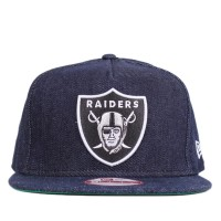 Bon� New Era 9FIFTY A-Frame Strapback Oakland Raiders Navy/Jeans