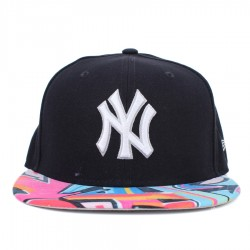 Bon� New Era 59FIFTY New York Yankees American Patch Navy