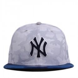 Bon� New Era 59FIFTY New York Yankees Camo Grey/Royal