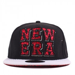 Bon� New Era 59FIFTY Script Black/Grey/Red