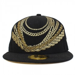 Bon� New Era 59FIFTY Chains Black/Gold