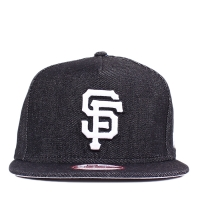 Bon� New Era 9FIFTY A-Frame Strapback San Francisco Giants Jeans Black