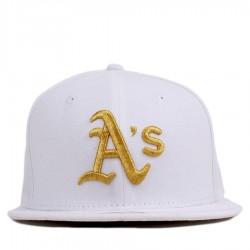 Bon� New Era 9FIFTY Snapback Oakland Athletics White/Gold