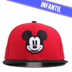 Bon� New Era 9FIFTY Youth Snapback Mickey Mouse Red/Black
