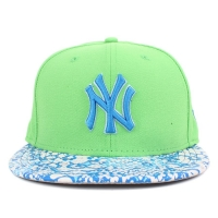 Bon� New Era 9FIFTY Strapback New York Yankees Green/Blue/White Printed