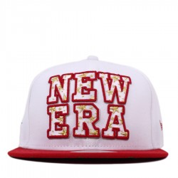Bon� New Era 59FIFTY Script White/Red