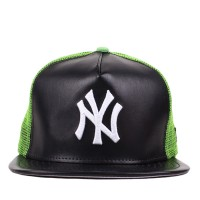 Bon� New Era 9FIFTY A-Frame Strapback New York Yankees Black/Green