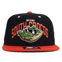 Bon� Starter Snapback South Crocos Black/Orange