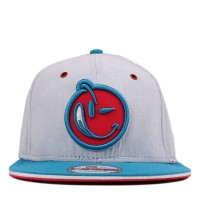 Bon� Yums New Era 9FIFTY Strapback Logo Grey/Blue/Pink