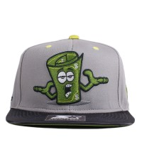 Bon� Starter Snapback Money Talks Grey/Green