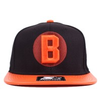 Bon� Starter Strapback Black Sox Tweed Black/Orange
