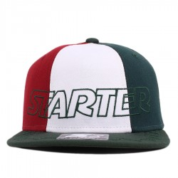 Bon� Starter Snapback Tri Power Green/White/Red