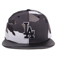 Bon� New Era 9FIFTY Strapback Los Angeles Dodgers Camo Grey