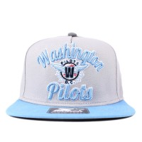 Bon� Starter Snapback Washington Pilots Grey/Blue