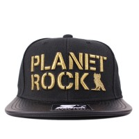Bon� Starter Snapback Planet Rock Black/Gold
