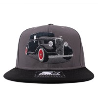Bon� Starter Snapback The God Grey/Black