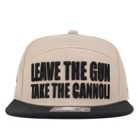 Bon� Starter Snapback Five Panel The God Beige/Black