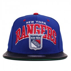 Bon� Mitchell And Ness Snapback New York Rangers Blue/Black